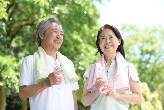 健康的な夫婦のイメージ